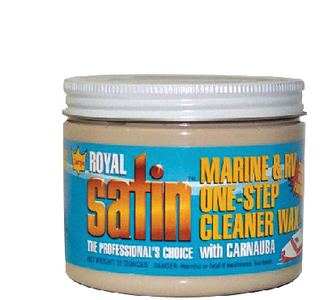 GARRY'S<sup>&reg;</sup> ROYAL SATIN<sup>TM</sup> MARINE & RV CLEANER WAX  - Click Here to See Product Details