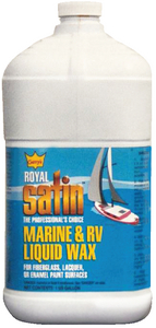 GARRY'S<sup>®</sup> ROYAL SATIN<sup>TM</sup> MARINE WAX - Click Here to See Product Details