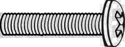 MACHINE SCREWS - PHILLIPS PAN HEAD (#8-751) - Click Here to See Product Details