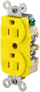 DUPLEX RECEPTACLE (#36-HBL52CM62) - Click Here to See Product Details
