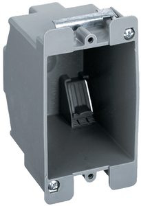 PLASTIC SWITCH/OUTLET BOX (#36-HBL6079) - Click Here to See Product Details