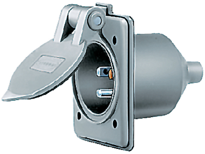 PANEL MOUNT INLET (#36-HBL61CM64) - Click Here to See Product Details