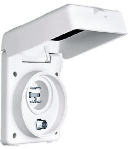 WHITE PHONE/TV INLET (#36-HBLPHTVNM) - Click Here to See Product Details