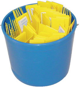 PAIL OF PLASTIC PUTTY KNIVES (#292-S49713) - Click Here to See Product Details