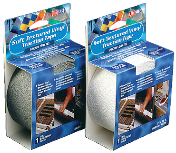 TEXTURED VINYL TRACTION TAPE - BOXED ROLLS (#834-RE3955) - Click Here to See Product Details