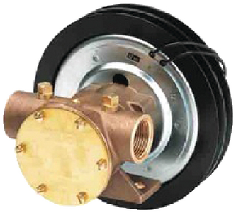 BRONZE ELECTRO-MAGNETIC CLUTCH PUMP (#6-118600005) - Click Here to See Product Details
