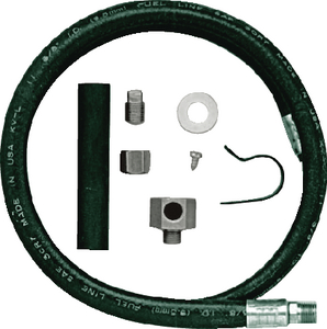 PERMANENT OIL DRAIN HOSE & FITTING (#6-180800000) - Click Here to See Product Details