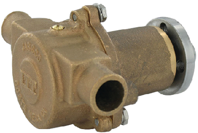 BRONZE FLEXIBLE IMPELLER ENGINE COOLING PUMP (#6-188301020) - Click Here to See Product Details