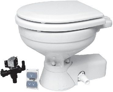 QUIET FLUSH TOILET (#6-370451092) - Click Here to See Product Details