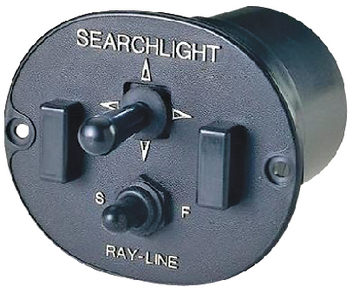 REMOTE CONTROL SEARCHLIGHT (#6-436700003) - Click Here to See Product Details