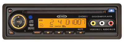DVD/CD/VCD/CD-DA/MP3/WMA PLAYER (#650-DVDB01) - Click Here to See Product Details