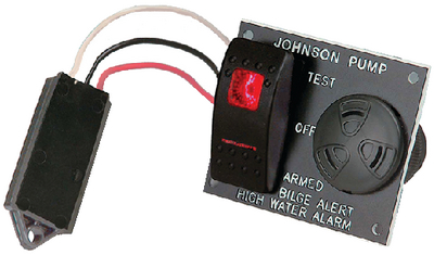 BILGE ALARM AND PUMP SWITCH PANEL (#189-72303) - Click Here to See Product Details