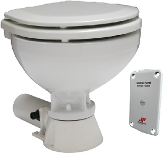 AQUA-T<sup>TM</sup> 12V COMPACT STANDARD ELECTRIC TOILET (#189-804743501) - Click Here to See Product Details