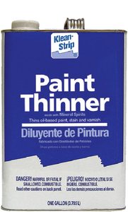 PAINT THINNER - Click Here to See Product Details