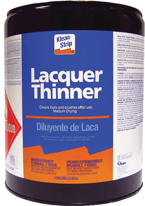 LACQUER THINNER - Click Here to See Product Details