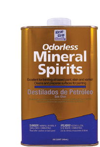 ODORLESS MINERAL SPIRITS FOR CALIFORNIA (#986-QKSP94005CA) - Click Here to See Product Details