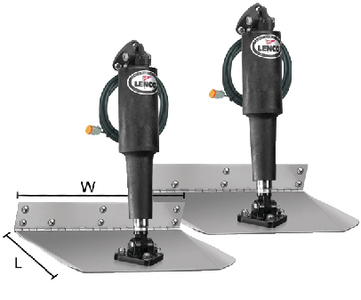 STANDARD ELECTRIC TRIM TAB KIT 12 VOLT (#622-15003101) - Click Here to See Product Details
