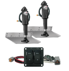 STANDARD ELECTRIC TRIM TAB KIT 12 VOLT (#622-15101104) - Click Here to See Product Details