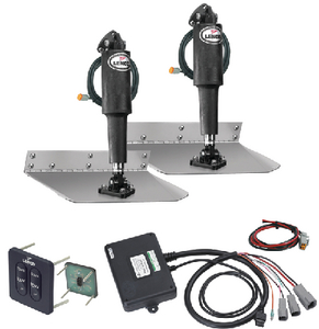 STANDARD ELECTRIC TRIM TAB KIT 12 VOLT (#622-15104102) - Click Here to See Product Details
