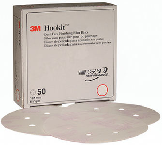 HOOKIT DUST-FREE FINISHING FILM DISC 260L  (#71-01070) - Click Here to See Product Details