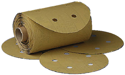 STIKIT<sup>TM</sup> DUST-FREE GOLD DISC ROLL (#71-01643) - Click Here to See Product Details