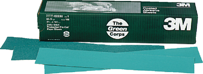 GREEN CORPS STIKIT PRODUCTION RESIN BOND PAPER SHEETS (#71-02232) - Click Here to See Product Details