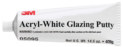 ACRYL-WHITE GLAZING PUTTY - Click Here to See Product Details