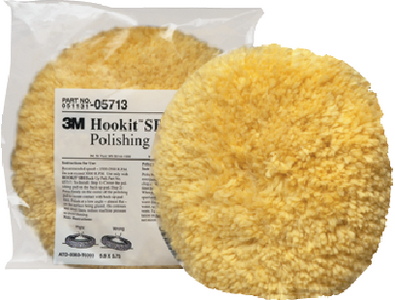 HOOKIT<sup>TM</sup> WOOL POLISHING PAD  (#71-05713) - Click Here to See Product Details
