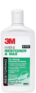 MARINE FIBERGLASS RESTORER & WAX (#71-09005) - Click Here to See Product Details