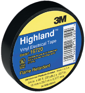 HIGHLAND BRAND ELECTRICAL TAPE (#71-16720) - Click Here to See Product Details