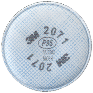 RESPIRATOR REPLACEMENT FILTERS (#71-2071) - Click Here to See Product Details