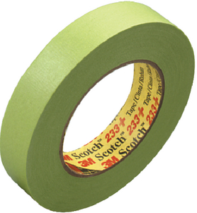 SCOTCH<sup>&reg;</sup> PERFORMANCE GREEN MASKING TAPE 233+ (#71-26341) - Click Here to See Product Details