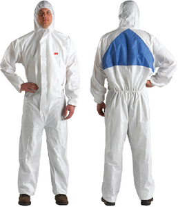 4540+ PROTECTIVE MICROPOROUS COVERALL W/ HOOD (#71-49809) - Click Here to See Product Details