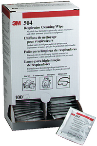 RESPIRATOR CLEANING WIPES (#71-504) - Click Here to See Product Details