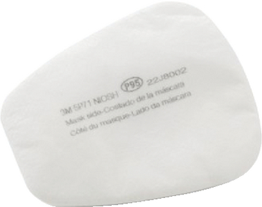 RESPIRATOR REPLACEMENT FILTERS (#71-5P71) - Click Here to See Product Details