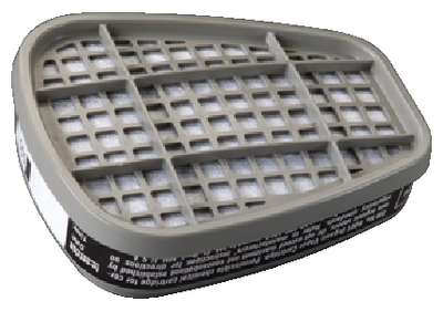 RESPIRATOR REPLACEMENT FILTERS (#71-6001) - Click Here to See Product Details