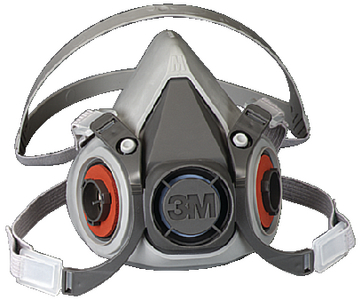 6000 SERIES HALF FACEPIECE RESPIRATOR ONLY (#71-6200) - Click Here to See Product Details