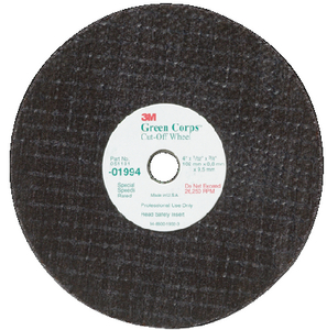 GREEN CORP CUT-OFF WHEEL (#71-82238) - Click Here to See Product Details