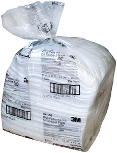 PETROLEUM SORBENT PADS (#71-T156) - Click Here to See Product Details