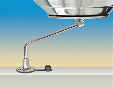 FLUSH DECK ROTATING SOCKET MOUNT (#214-A10126) - Click Here to See Product Details