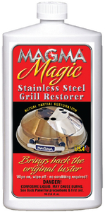 MAGMA MAGIC, GRILL RESTORER - Click Here to See Product Details