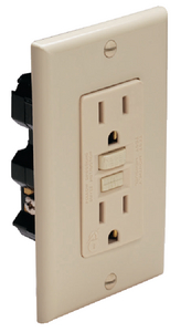 GFCI DUPLEX RECEPTACLE (#69-1591FI) - Click Here to See Product Details