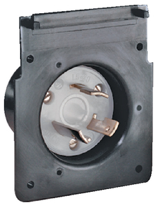 POWER INLET REPLACEMENT INTERIOR (#69-301CRMB) - Click Here to See Product Details