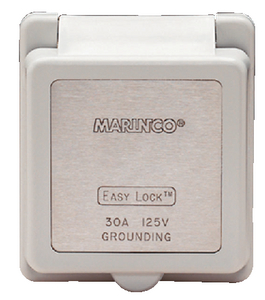 STANDARD POWER INLET (#69-301ELCB) - Click Here to See Product Details