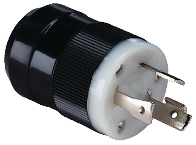 30 AMP CONNECTOR AND PLUG (#69-305BP) - Click Here to See Product Details