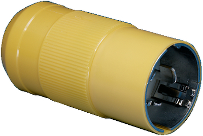 50A FEMALE CONNECTOR AND MALE PLUG (#69-6365CRN) - Click Here to See Product Details
