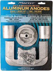 MERCRUISER BRAVO I ANODE KIT (#194-CMBRAVO1KITZ) - Click Here to See Product Details