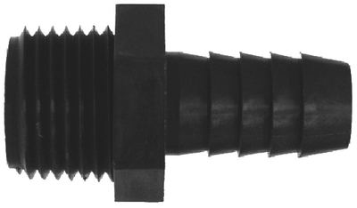 MALE HOSE/BARB PIPE ADAPTERS (#38-33380W) - Click Here to See Product Details