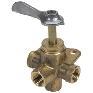 BRASS FOUR-WAY VALVE (#114-03330410) - Click Here to See Product Details