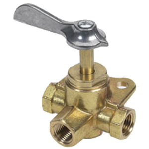 BRASS THREE-WAY VALVE (#114-03330510) - Click Here to See Product Details